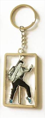 Elvis Spinner Blue Suede Shoes Keyring | Accessories