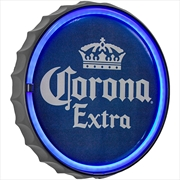 "Corona Extra Bottle Cap Led Neon Light Sign Wall Decor (12"") 