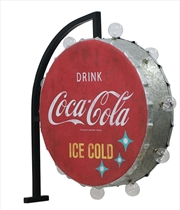 Round Off The Wall Coca Cola LED Bracket Sign | Accessories