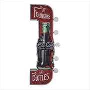 Fountain Off The Wall Coca Cola in Bottles LED Marquee Sign | Accessories