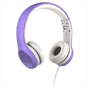 LilGadgets Connect+ Style Children's Wired Headphones – Purple | Accessories
