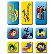 Beatles Set Yellow Submarine Magnets | Merchandise