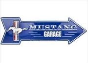 Ford Mustang Garage Arrow Sign | Merchandise
