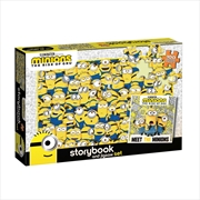 Minions The Rise of Gru - Storybook and Jigsaw Set - 100 Piece | Merchandise