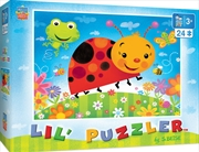 Masterpieces Puzzle Lil Puzzler Bug Buddies Puzzle 24 pieces   Merchandise