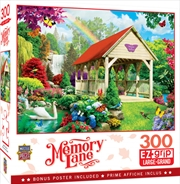 Masterpieces Puzzle Memory Lane Welcome to Heaven Ez Grip Puzzle 300 pieces | Merchandise