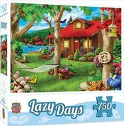 Masterpieces Puzzle Lazy Days Lakeside Retreat Puzzle 750 pieces | Merchandise