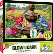 Masterpieces Puzzle Hidden Image Glow Garden of Song Puzzle 500 pieces | Merchandise