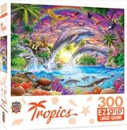 Masterpieces Puzzle Tropics Fantasy Isle Ez Grip Puzzle 300 pieces | Merchandise