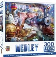 Masterpieces Puzzle Medley Magical Journey Ez Grip Puzzle 300 pieces | Merchandise