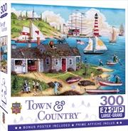 Masterpieces Puzzle Town & Country Painter's Point Ez Grip Puzzle 300 pieces | Merchandise