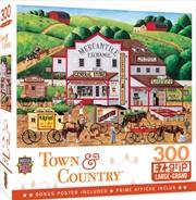 Masterpieces Puzzle Town & Country Morning Deliveries Ez Grip Puzzle 300 pieces | Merchandise