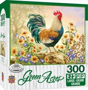 Masterpieces Puzzle Green Acres Morning Glory Ez Grip Puzzle 300 pieces | Merchandise