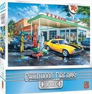 Masterpieces Puzzle Childhood Dreams Pop's Quick Stop Puzzle 1,000 pieces | Merchandise