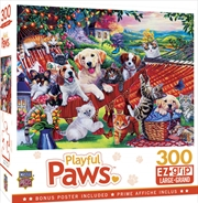 Masterpieces Puzzle Playful Paws A Lazy Afternoon Ez Grip Puzzle 300 pieces | Merchandise