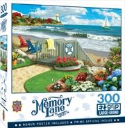 Masterpieces Puzzle Memory Lane Coastal Getaway Ez Grip Puzzle 300 pieces | Merchandise