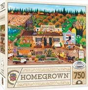 Masterpieces Puzzle Homegrown Peterson Farms Puzzle 750 pieces | Merchandise