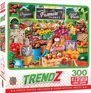 Masterpieces Puzzle Trendz Farmers Market Ez Grip Puzzle 300 pieces | Merchandise
