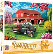 Masterpieces Puzzle Lazy Days A Farm's Alive Puzzle 750 pieces | Merchandise