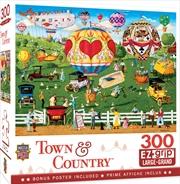 Masterpieces Puzzle Town & Country Flights of Fancy Ez Grip Puzzle 300 pieces | Merchandise