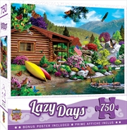 Masterpieces Puzzle Lazy Days Free to Fly Puzzle 750 pieces | Merchandise