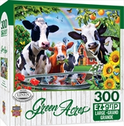 Masterpieces Puzzle Green Acres Moo Love Ez Grip Puzzle 300 pieces | Merchandise