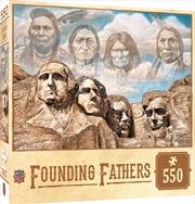 Masterpieces Puzzle Tribal Spirit Founding Fathers Puzzle 550 pieces | Merchandise