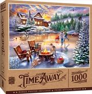 Masterpieces Puzzle Time Away An Evening Skate Puzzle 1,000 pieces | Merchandise