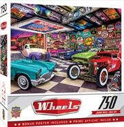 Masterpieces Puzzle Wheels Collector's Garage Puzzle 750 pieces | Merchandise