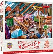 Masterpieces Puzzle Home Sweet Home Attic Secrets Puzzle 550 pieces | Merchandise