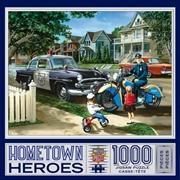 Masterpieces Puzzle Hometown Heroes Neighborhood Patrol Puzzle 1,000 pieces   Merchandise