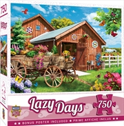 Masterpieces Puzzle Lazy Days Flying to Flower Farm Puzzle 750 pieces | Merchandise