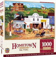 Masterpieces Puzzle Hometown Gallery Changing Times Puzzle 1,000 pieces | Merchandise