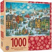 Masterpieces Puzzle Holiday Harbor Side Carolers Puzzle 1,000 pieces | Merchandise