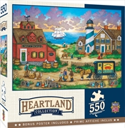 Masterpieces Puzzle Heartland Collection The Days End Puzzle 550 pieces | Merchandise