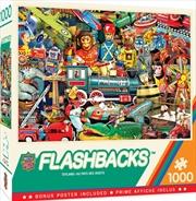 Masterpieces Puzzle Flashbacks Toyland Puzzle 1,000 pieces | Merchandise