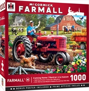 Masterpieces Puzzle Farmall Coming Home Puzzle 1,000 pieces | Merchandise