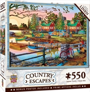 Masterpieces Puzzle Country Escapes Away from It All Puzzle 550 pieces | Merchandise