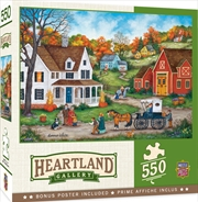 Masterpieces Puzzle Heartland Collection Dinner at Grandmas Puzzle 550 pieces | Merchandise
