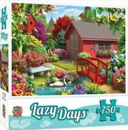 Masterpieces Puzzle Lazy Days Over the Bridge Puzzle 750 pieces | Merchandise