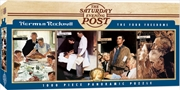 Masterpieces Puzzle The Saturday Evening Post Norman Rockwell Panoramic the Four Freedoms Puzzle 1,0 | Merchandise