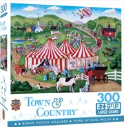 Masterpieces Puzzle Town & Country Jolly Time Circus Ez Grip Puzzle 300 pieces | Merchandise