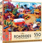 Masterpieces Puzzle Roadside of the Southwest Touring Time Puzzle 550 pieces | Merchandise