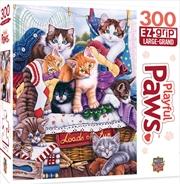 Masterpieces Puzzle Playful Paws Loads of Fun Ez Grip Puzzle 300 pieces | Merchandise