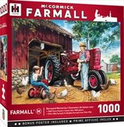 Masterpieces Puzzle Farmall Barnyard Memories Puzzle 1,000 pieces | Merchandise