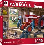Masterpieces Puzzle Farmall Red Power Puzzle 1,000 pieces | Merchandise