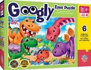 Masterpieces Puzzle Googly Eyes Dinos Puzzle 48 pieces | Merchandise