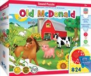 Masterpieces Puzzle Educational Sing-a-Long Old McDonald Puzzle 24 pieces | Merchandise