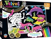 Masterpieces Puzzle Kids Velvet Coloring Mermaid Puzzle 60 pieces   Merchandise