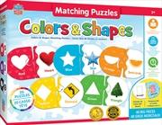 Masterpieces Puzzle Educational Matching Puzzle Colors/Shape   Merchandise